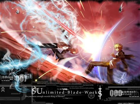 Wallpaper Engine Emiya   fate stay night unlimited blade works wallpaper and