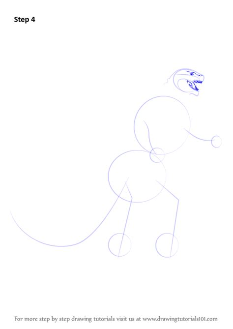 how to draw doodle characters step by step learn how to draw a godzilla godzilla step by step
