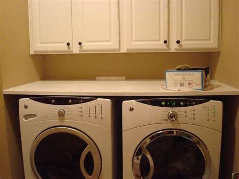 Washer Dryer Shelf by Counter Or Shelf Washer Dryer By Davidatx