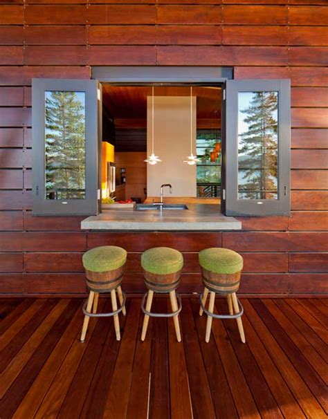 Windows Top Bar by 22 Brilliant Kitchen Window Bar Designs You Would To