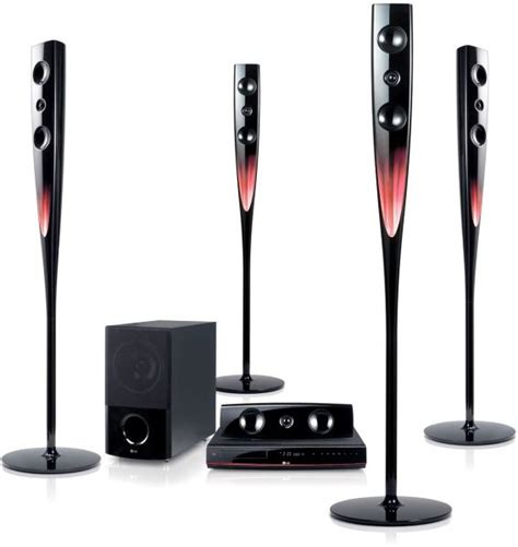 Optik Dvd Home Theater Lg lg 5 1 channel 1000watts usb recording dvd home theater system model ht964tz speakers