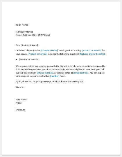 thank you letter to new client 11 business letter templates for all businesses formal