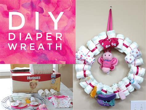 Diaper Gift Card - diy diaper wreath get a 10 sam s club gift card when you buy huggies diapers wipes
