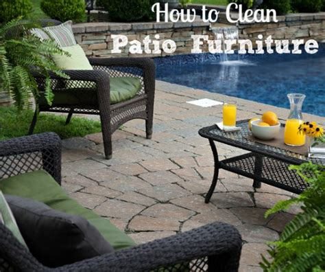 Cleaning Outdoor Furniture by How To Clean Outdoor Patio Furniture Install It Direct