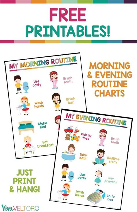 printable toddler routine chart 2900 best kids activities and crafts images on pinterest