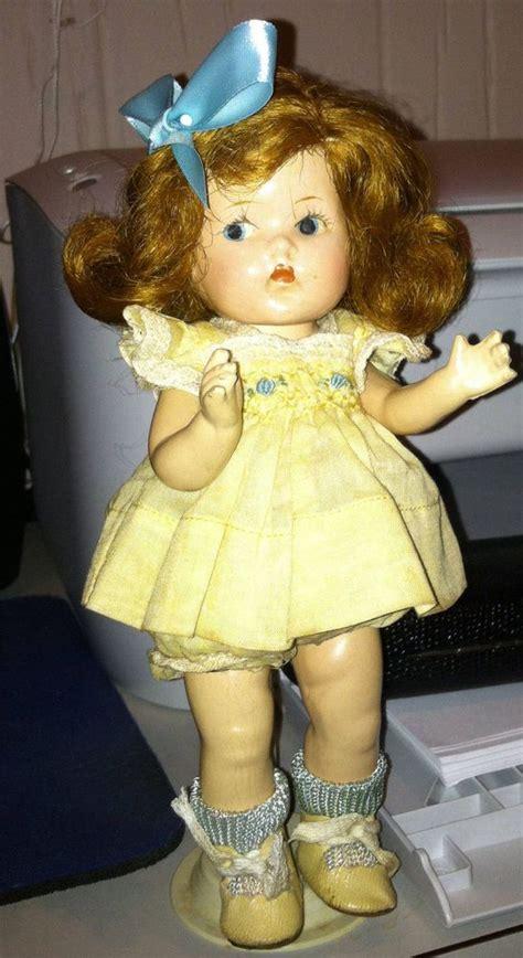 vogue composition doll vintage vogue ginny doll strung composition toddles