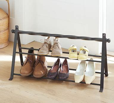 Rack Room Shoes Exton bexton shoe rack pottery barn