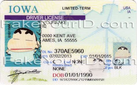 iowa fake id cards replication image sle at