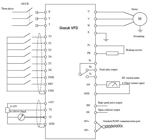 vfd drives wiring diagram vfd get free image about