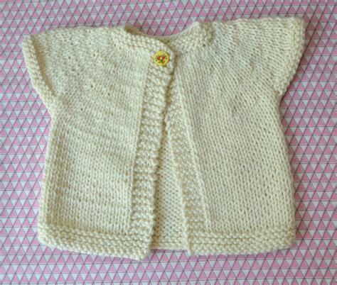 baby sweater free knitting pattern one baby cardigan loop knits