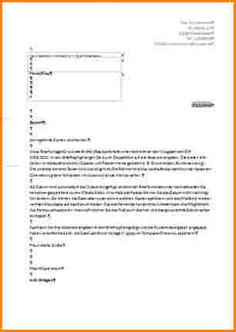 Offizieller Brief Template Formbrief Vorlage Reimbursement Format