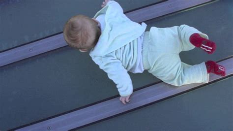 baby falls off bed baby falls off building warning youtube