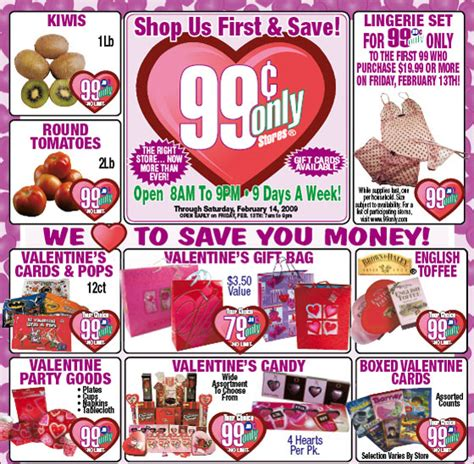 99 cent store valentines day s day gifts tips from the 99 cent store