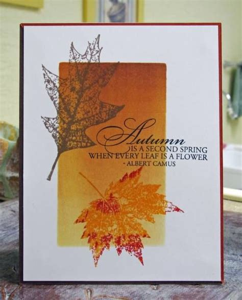 Handmade Fall Cards - best 10 autumn cards ideas on thanksgiving