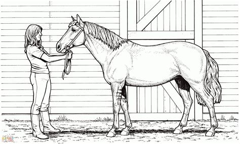 horse barn coloring page horse stable coloring pages pictures to pin on pinterest