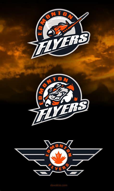flyer design edmonton edmonton flyers hockey club identity on behance