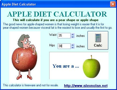 apple diet apple diet calculator