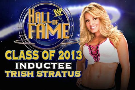 trish stratus fan mail trish stratus asking fans who should induct her into the