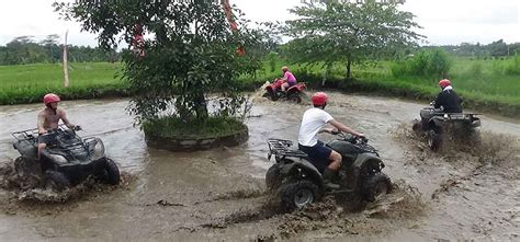 atv quad bike  white water rafting bali