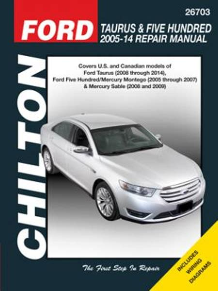ford taurus chilton repair manual ses lx sho comfort g sel gl shop service xd ebay all ford five hundred parts price compare