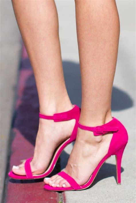 High Heels Brukat Crem Pink Fuschia Pink High Heels Heels Pink High