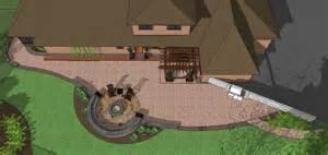 Designer Patio Patio Design Residential Designer Custom Home Plans