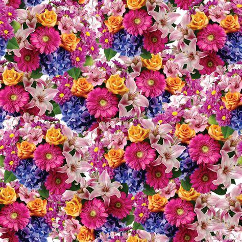Flower Print seamless flower print 23 by doncabanza on deviantart