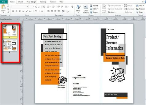 making  publishing brochures  publisher