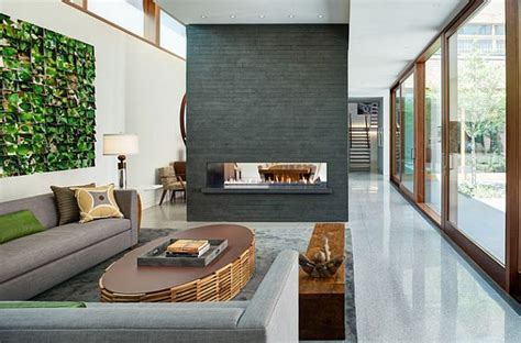 contemporary setting 34 modern fireplace designs with glass for the