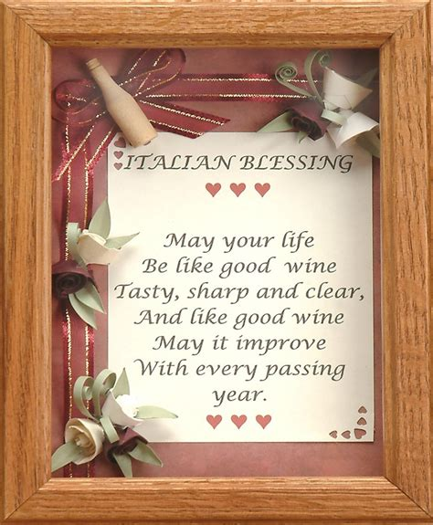 Wedding Blessing Wine by Italian Wedding Blessing Quotes Quotesgram