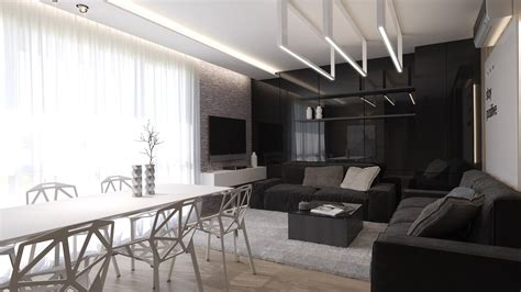 black and white interior black living rooms ideas inspiration