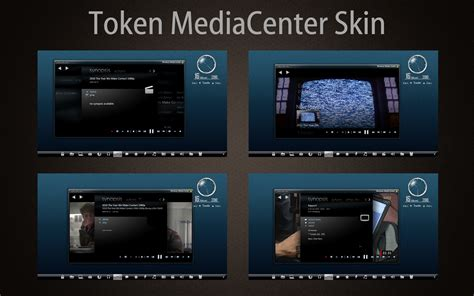 windows media center themes for windows 7 token mediacenter skin by mr ragnarok on deviantart