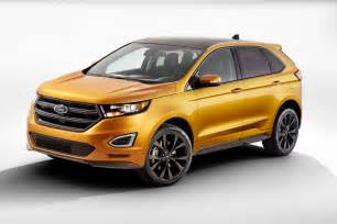 2015 Ford Edge Pictures 2015 Ford Edge Gets Better Looks And More Tech For Its