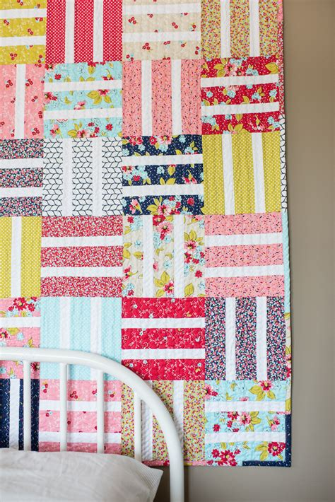 How To Put Together A Quilt by Beginner Baby Quilt Tutorial