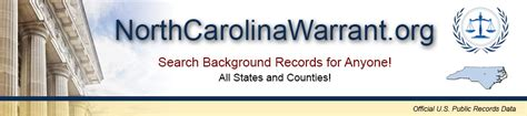 Warrant Search Nc Northcarolinawarrant Org Carolina Warrants