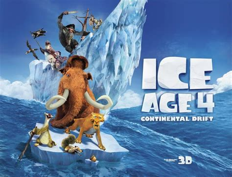 ice age continental drift review film bacon