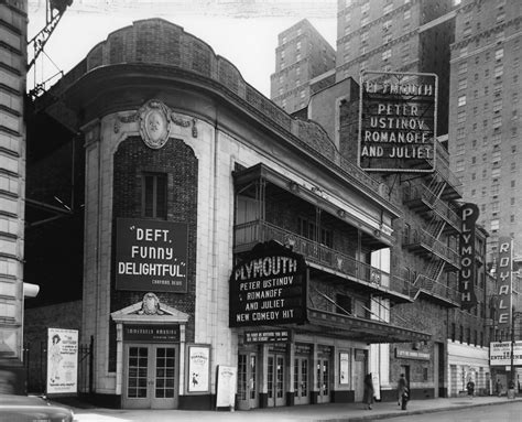 plymouth showtimes gerald schoenfeld theatre shubert organization