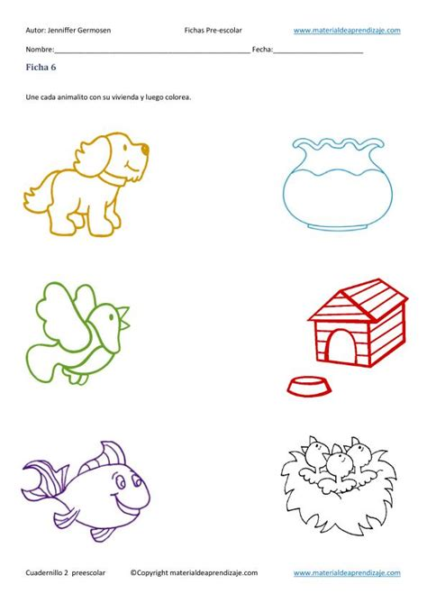 imagenes diagnosticas pdf fichas cuaderno 2 educacion preescolar en imagenes 07
