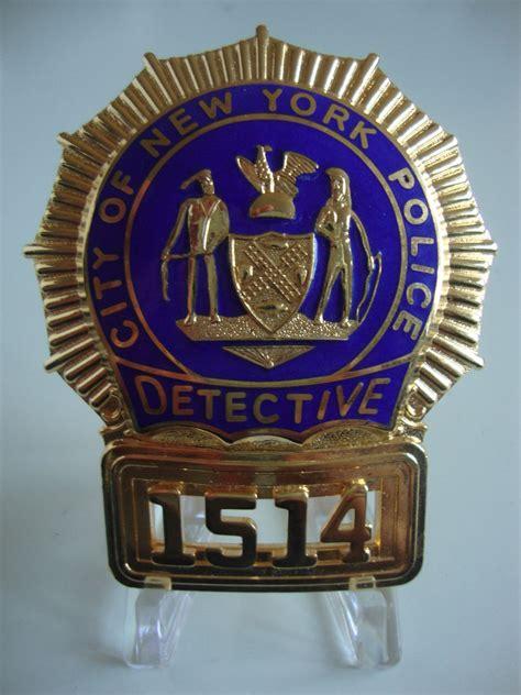 New Badge Forki Termurah new york detective badge shield policebadge eu