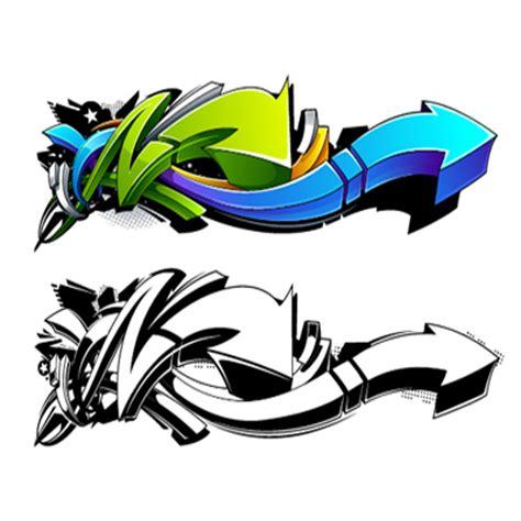 tutorial illustrator graffiti create a wild graffiti style arrow design in adobe