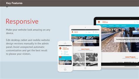 html responsive design iframe industrial moto cms 3 template 55130 templates com