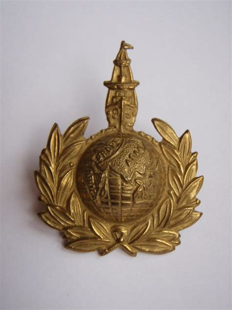 british royal marines insignia royal marine labour corps cap badge uniforms badges