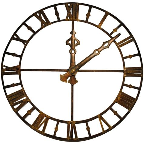 giant clocks large clock face at 1stdibs