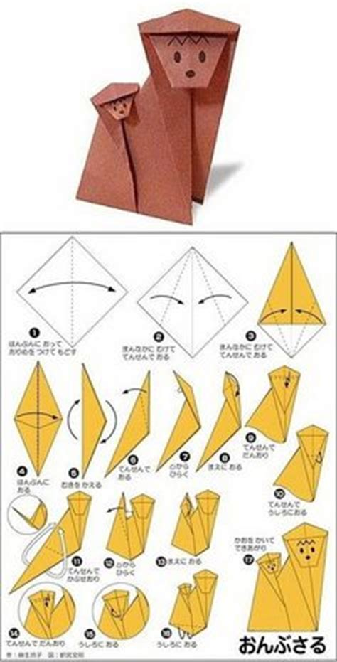 Origami Monkey Easy - the world s catalog of ideas