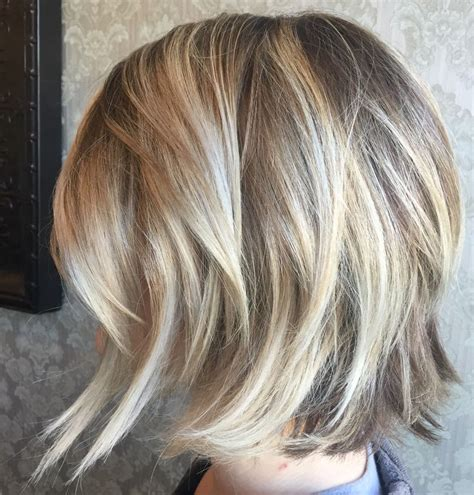 platinum balayage bob images blonde on blonde balayage highlights angled bob haircut