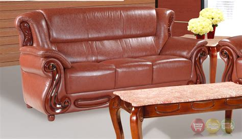 cherry brown leather sofa brown caramel leather sofa with cherry accents