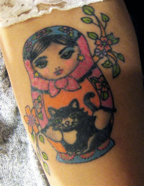 russian doll tattoo design ideas matryoshka significato