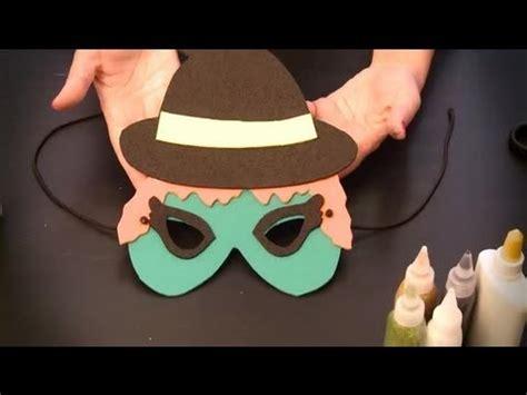imagenes de halloween foami c 243 mo hacer un antifaz de bruja antifaces de personajes