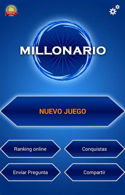 preguntas y respuestas quien quiere ser millonario quiz millonario espa 241 ol gratis para android descargar