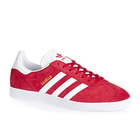 adidas red shoes adidas originals gazelle shoes power red free uk delivery